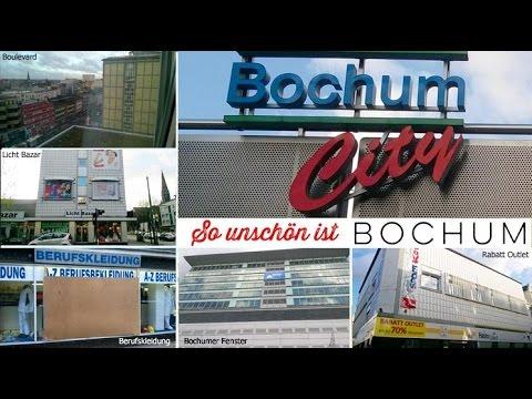 So unschön / schön ist Bochum - Stadtrundgang - Tourist Diashow