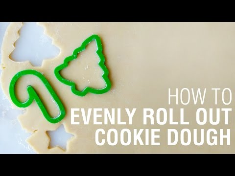 How To Evenly Roll Out Cookie Dough