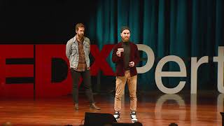 When the best idea is no idea | Michael Gatt & Owen Merriman | TEDxPerth