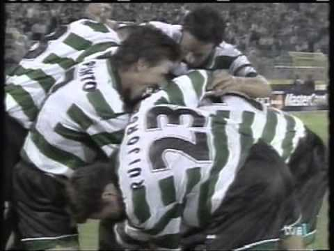 Download 2000 September 12 Sporting Lisbon Portugal 2 Real Madrid Spain 2 Champions League