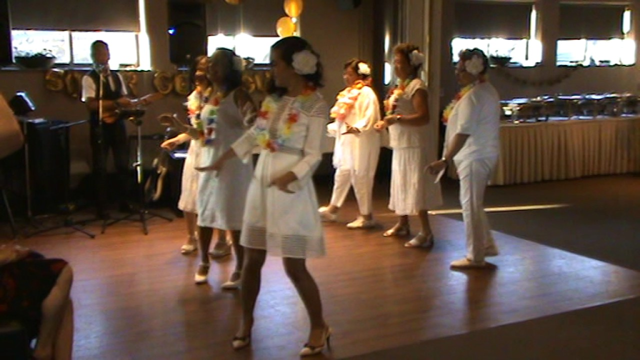 Hawaiian Wedding Song Line Dance