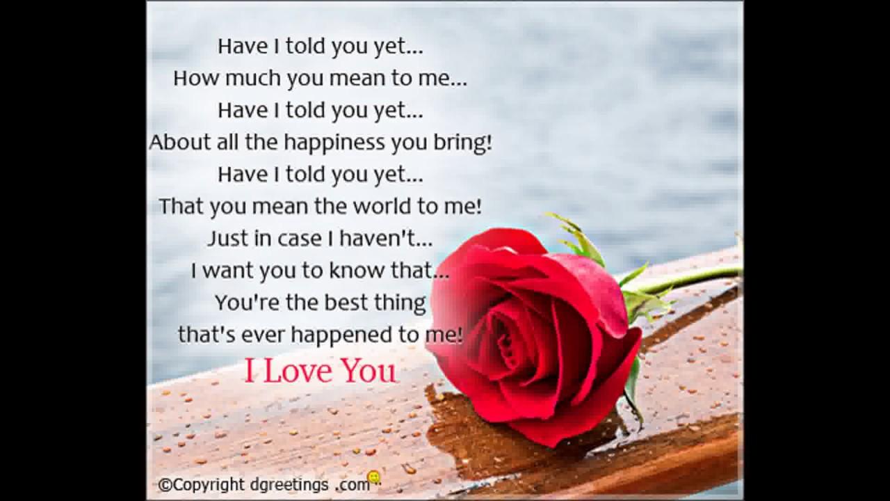 3 Cute Love Poems