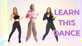 8-Minute Hip-Hop Dance Class | LEARN A DANCE WITH ME! | Lucie Fink
