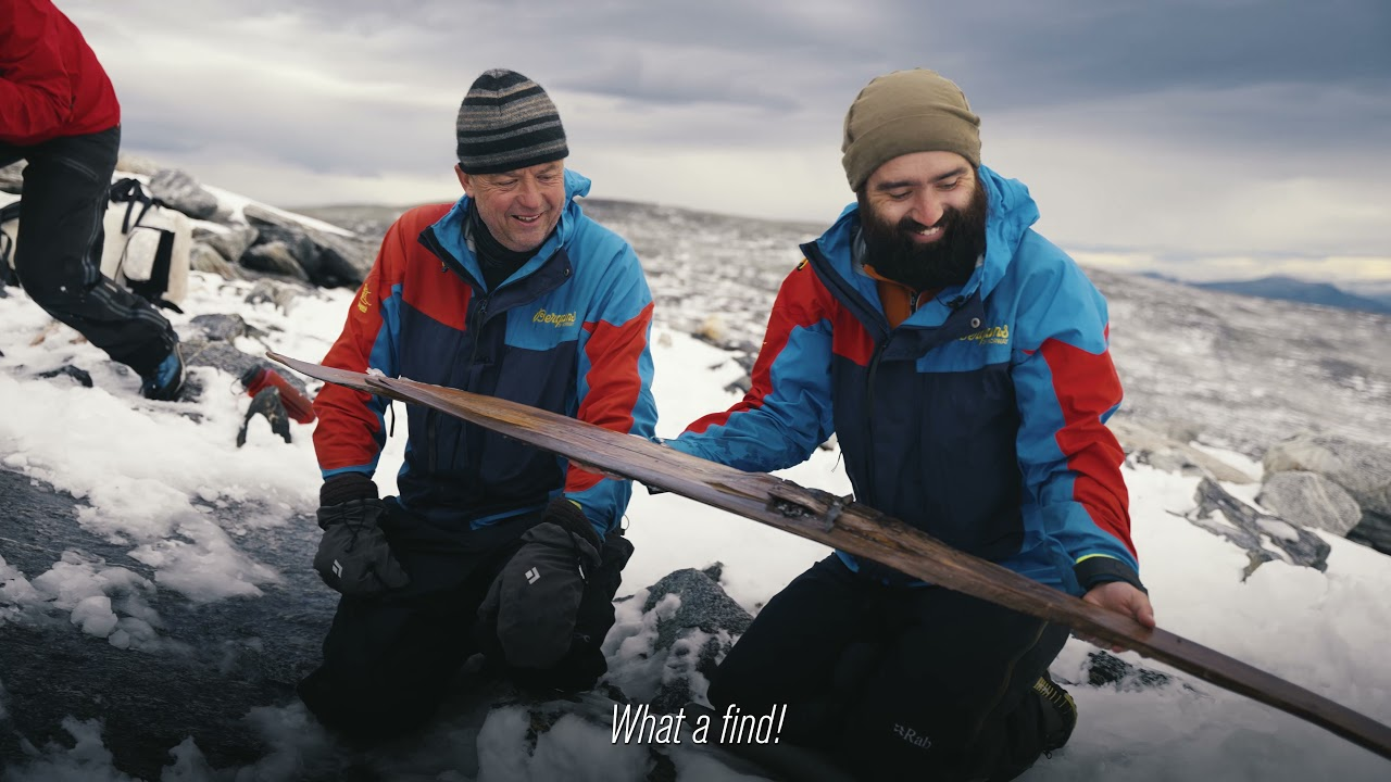 Archaeologists Discover 1300-Year-Old Pair of Skis, the Best-Preserved Ancient Skis in Existence