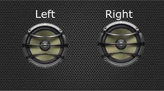 #Stereo: Left and Right Stereo Sound Test
