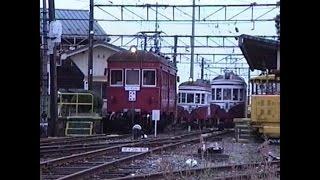 揖斐線 黒野駅の一時 想い出の鉄道シーン231
