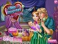 Frozen Anna and Kristoff Baby Feeding Games For Kids - Gry Dla Dzieci