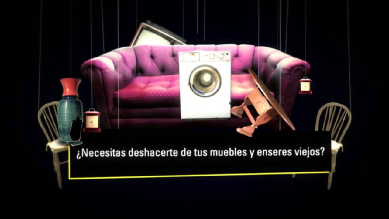 Servicio De Recogida De Muebles : Campaña servicio de recogida muebles inagra youtube