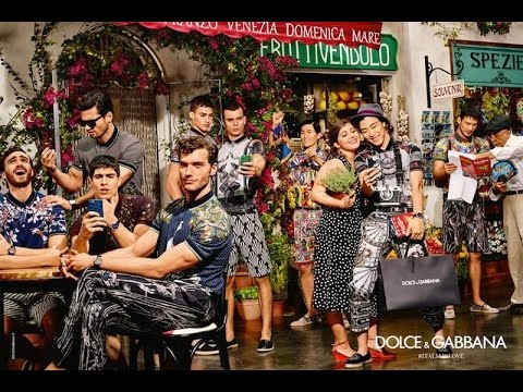 Dolce   Gabbana Spring 2016 Ad Campaign Film - YouTube a05e9f5b660