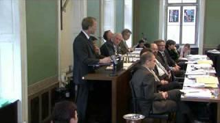 Wahl von Peter Hegglin zum Landammann 2009-2010 des Kantons Zug