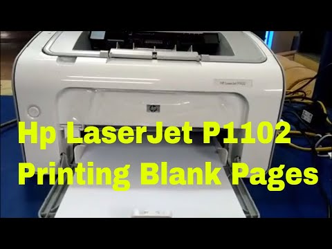how to fix printer printing blank pages
