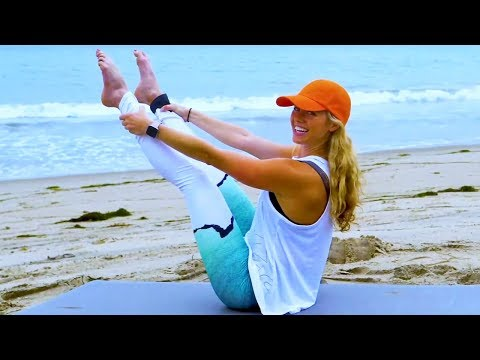 40 Minute Core Pilates   Abs Core Cardio with Yoga Cool Down