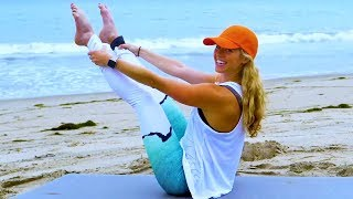 40 Minute Core Pilates // Abs Core Cardio with Yoga Cool Down