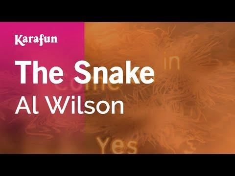 Karaoke The Snake - Al Wilson *