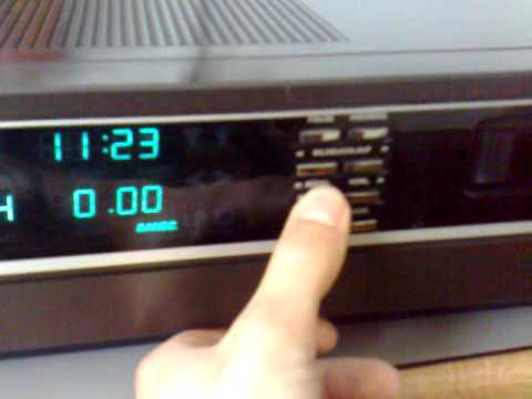 Grundig Video 2000 (Best. Nr.2000) Aufnahme