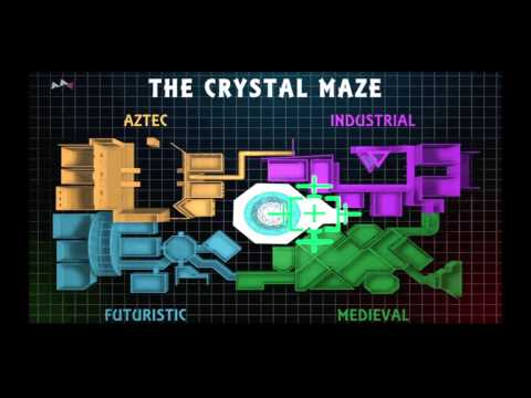 The Crystal Maze 'Forcefield' Full Theme HQ