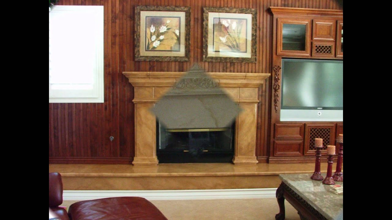 how to paint fireplaces youtube