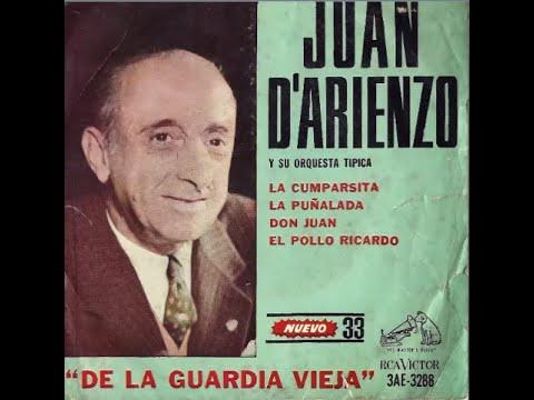 JUAN D'ARIENZO - LA CUMPARSITA (APOLOGIA TANGUERA) / LA PUÑALADA / DON JUAN / EI POLLO RICARDO - LP mp3
