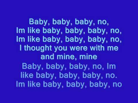 Justin Bieber - Baby [lyrics on screen]