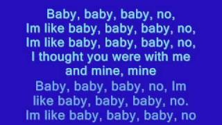 Justin bieber - baby [lyrics on screen]