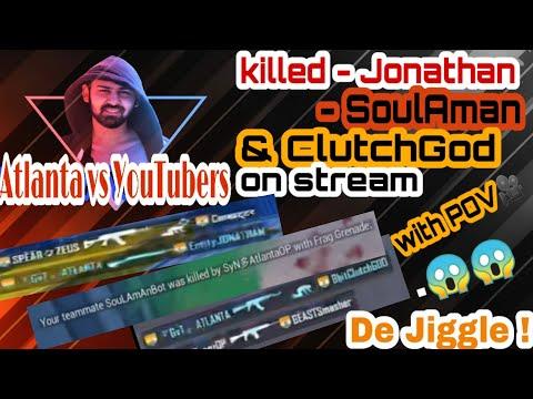 Atlanta killed Jonathan | SoulAman | ClutchGod #TapaTap #pubgindia #Atlantagaming