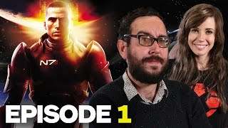 Marty Plays Mass Effect: Episode 1 - Saren Surprise Party