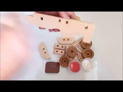 Kendin Yap Modeli Ahşap Oyuncak Boyama Uygulaması - İcat Çıkartıyoruz