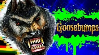 GOOSEBUMPS Learn How to Draw WEREWOLF of Fever Swamp. SPEED DRAWING