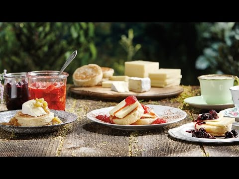 Canadian Cheese with Crumpets and Jam | All You Need Is Cheese