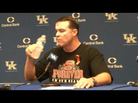 UK Hoops Matthew Mitchell After Win vs Southern Miss Part 1.MP4