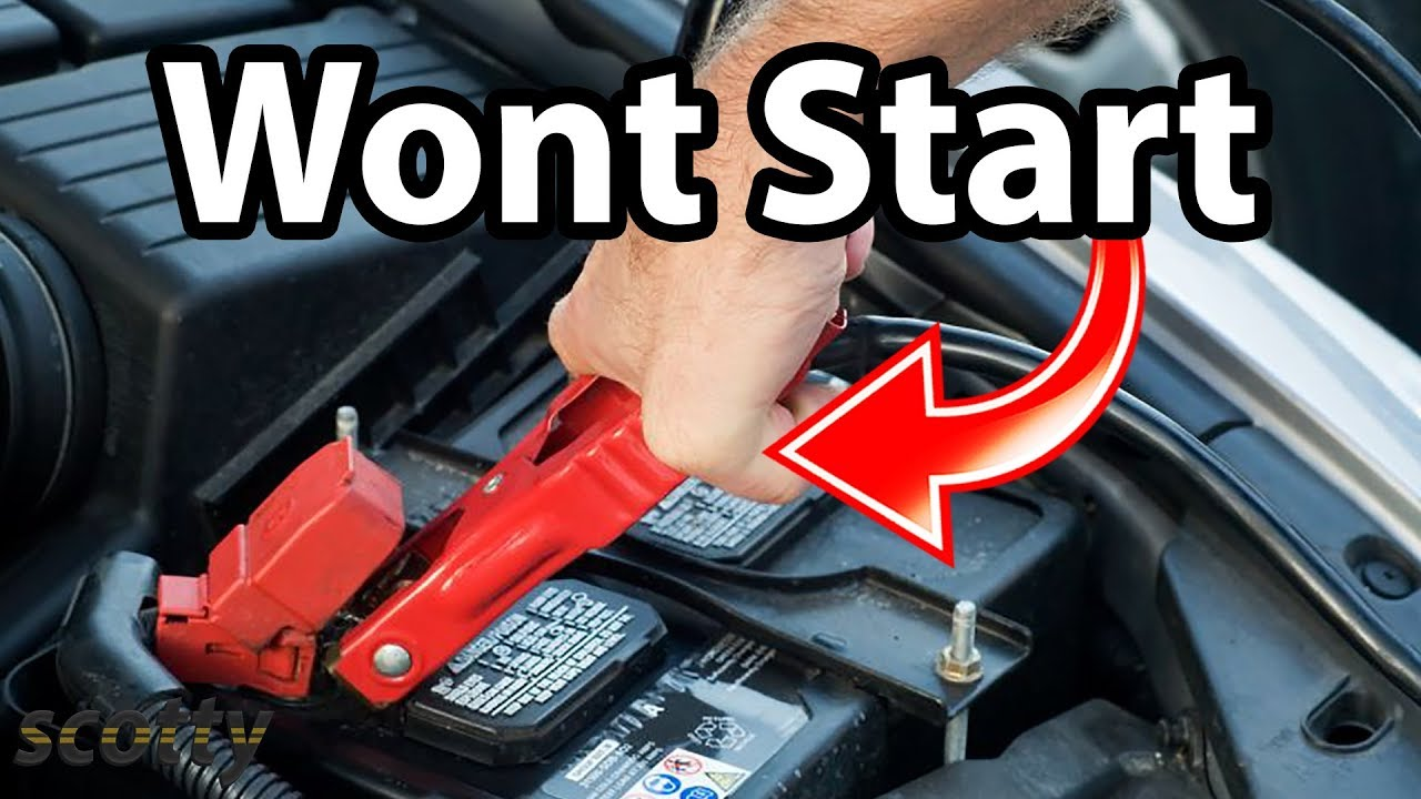 fix  car  wont start jump start youtube