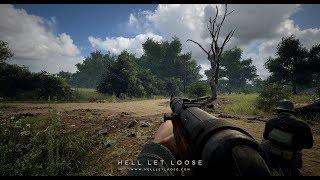 Hell Let Loose Segunda Guerra Mundial Alpha Cerrada en Directo