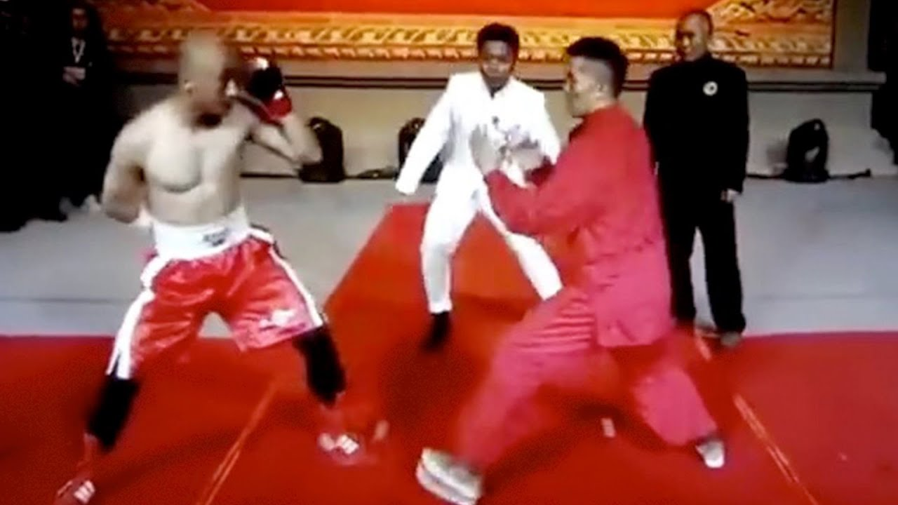 Wing Chun Kung Fu VS One Arm MMA Fighter