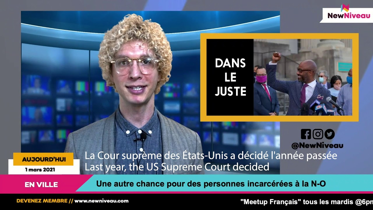 Les Nouvelles-Orléans: 1 mars 2021