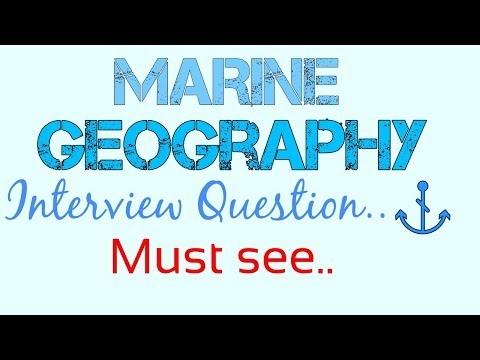 Marine Geography interview question |Hindi| |English| By Sai