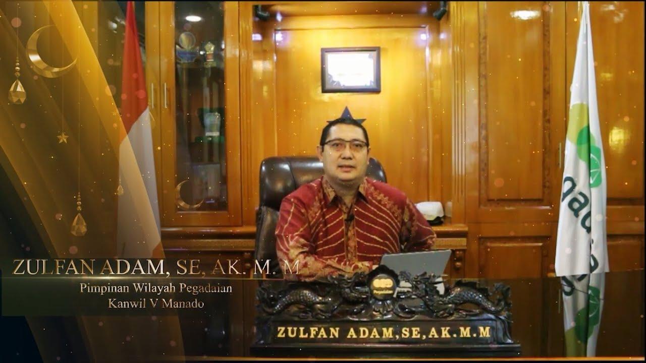 VIDEO Ucapan Selamat Menjalankan Ibadah Puasa 1441 H Pemimpin Pegadaian Kanwil V Manado Zulfan Adam