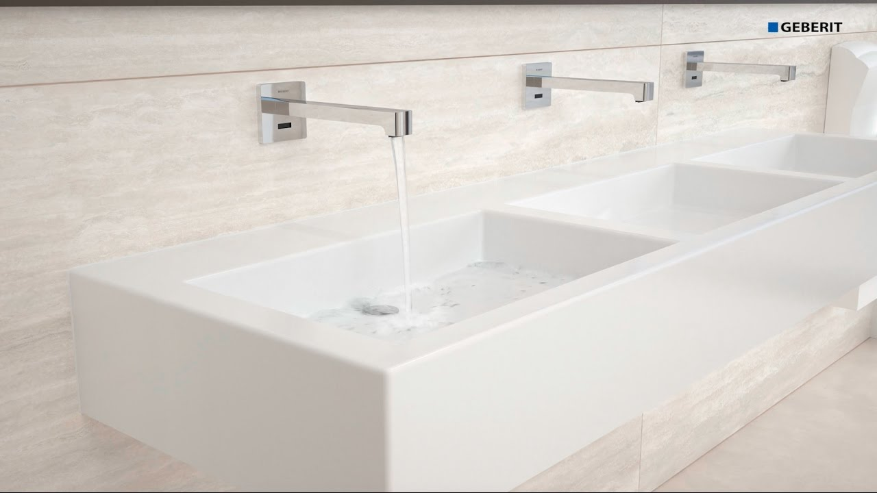 Geberit tap system installation youtube for Geberit installation system