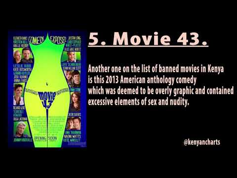 7 Sexually Explicit Movies Banned in Kenya