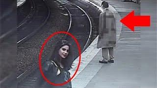 தீடிர் என மாரிய பெண் ரயில் நிலையத்தில் நடந்த மர்மம் Top 5 Ghost Video Caught By Foriegn Youtubers