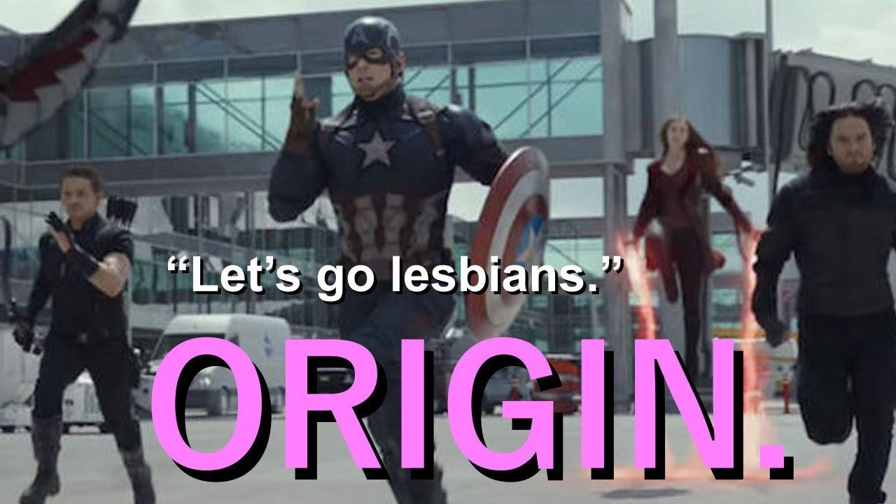 Let's Go Lesbians Meme Origin. 😂 - YouTube