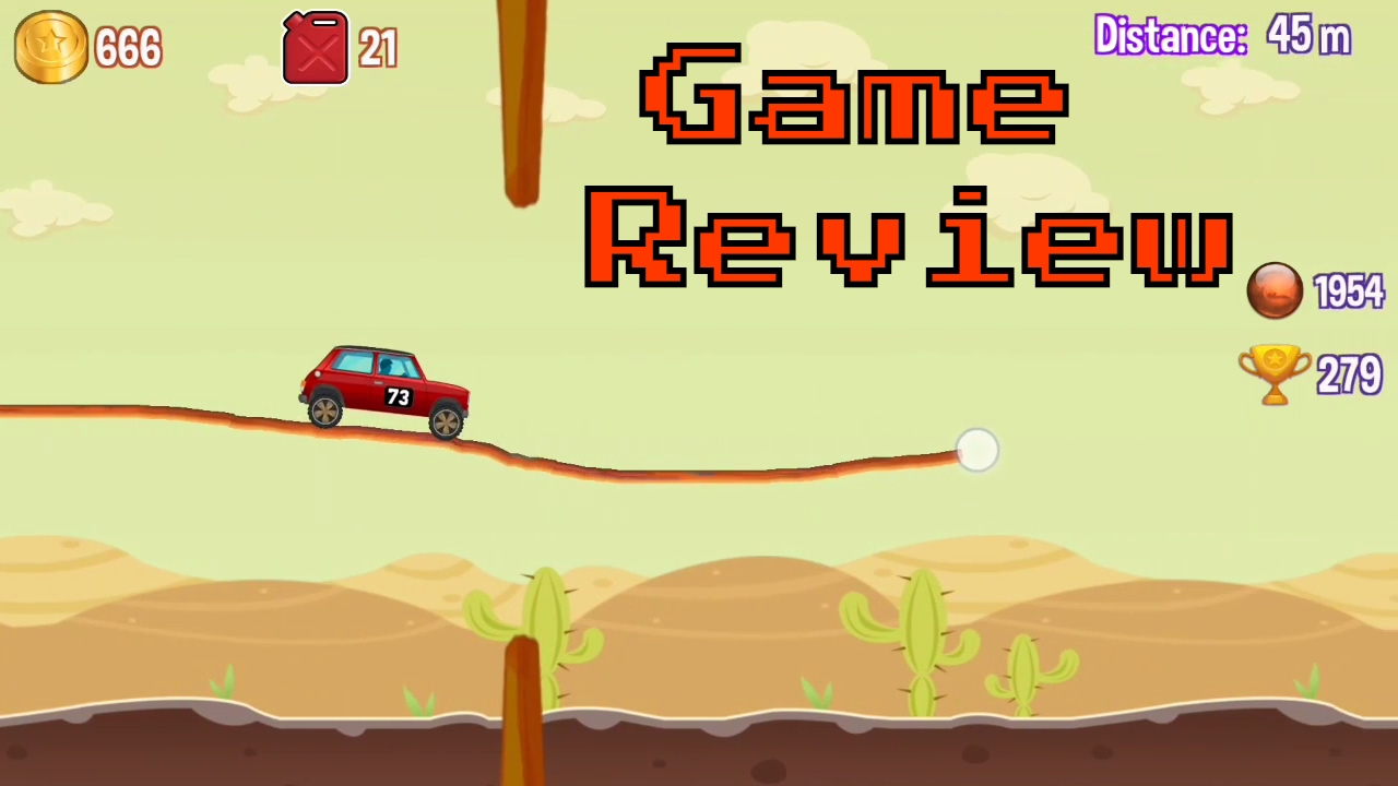 Road Draw - Hill Climb Race | Full Game Review