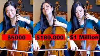 Can You Hear the Difference Between One Million Dollar & $5000 Cello? | Bach Cello Suite No. 1