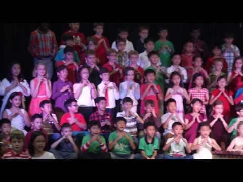 Dalat - ES School - Christmas Concert - ES Christmas Celebration (Grd. 2 - Grd. 4) - Dec 2016