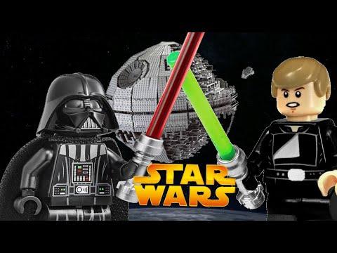 "LEGO STAR WARS анимация ""Дуэль на звезде смерти"""