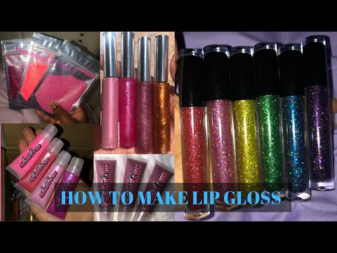 HOW TO MAKE LIP GLOSS (step by step) | PRETTY JANAY