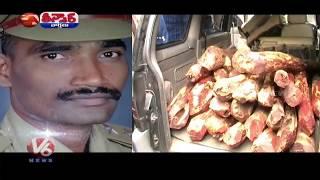 Fake Police Hulchul At LB Nagar | Home Guard Created Fake ID As S.I. | Teenmaar News | V6 News