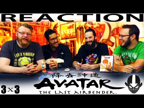 "Avatar: The Last Airbender 3x3 REACTION!! ""The Painted Lady"""
