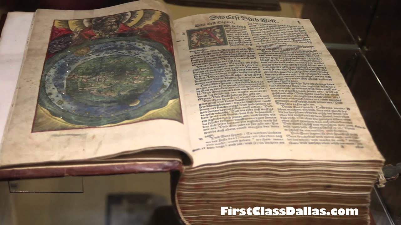 History of the Bible at The Museum of Biblical Art