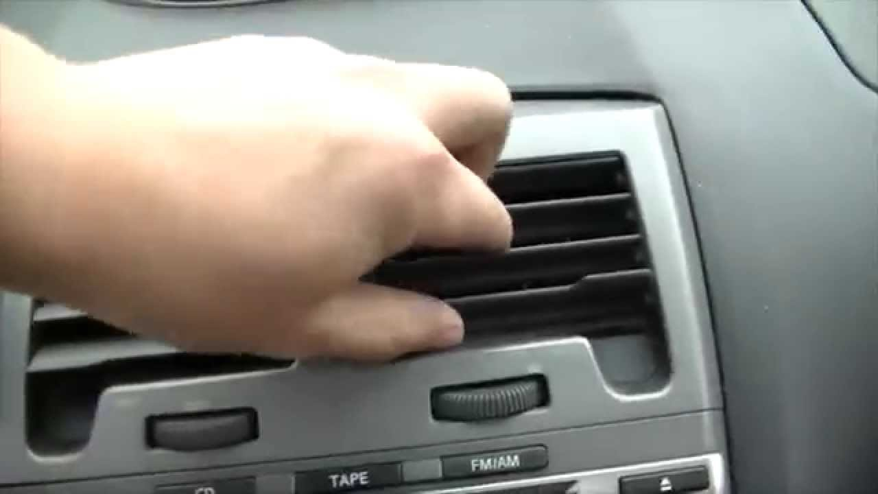 2002 Nissan Maxima How To Replace The Blower Motor Youtube Glove Box Light Fuse Premium