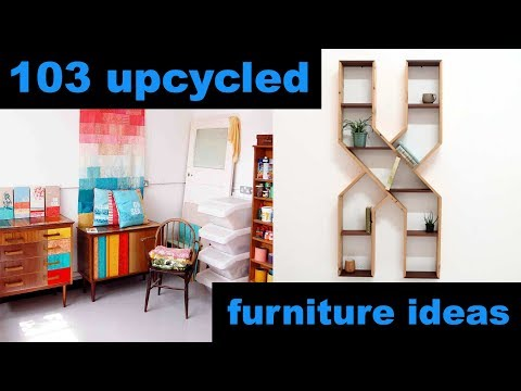 103 Upcycled Furniture Ideas!